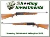 Browning BAR Grade II 69 Belgium 30-06