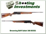 Browning BAR Safari 300 Win Mag with BOSS!