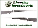 Browning A-bolt Stainless Stalker 325 WSM - 1 of 4