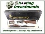 Browning Model 12 High Grade 5 28 Ga XX Wood ANIB - 1 of 4