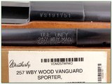 Weatherby Vanguard 257 Wthy Mag ANIB - 4 of 4