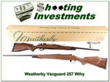 Weatherby Vanguard 257 Wthy Mag ANIB - 1 of 4