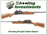 Browning A5 Light 12 Buck Special Exc Cond! - 1 of 4