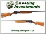 Browning A5 64 Belgium 12 Ga Nice!