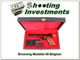 Browning Medalist 22 Auto 68 Belgium exc cond in case!