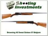 Browning A5 Sweet Sixteen 57 Belgium