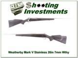 Weathebry Mark V Stainless 26in 7mm Wthy Mag!
