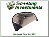 NightHawk Custom Talon II 45 ACP