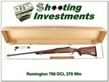 Remington 700 CDL 270 Exc Cond in box