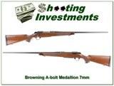Browning A-bolt Medallion 7mm Rem Magnum