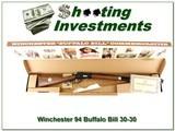 Winchester 94 Buffalo Bill 30-30 26in rifle NIB