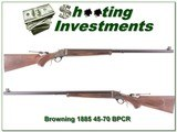 Browning 1885 45-70 BPCR 30in, case colored looks new