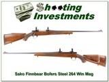 Sako L61R Finnbear Bofers Steel 264 Win Magnum!