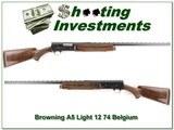 Browning A5 Light 12 74 Belgium Vent Rib