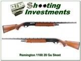 Remington 1100 20 Gauge Skeet Exc Cond!