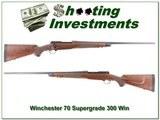 Winchester Model 70 Classic Supergrade 300 Win Mag