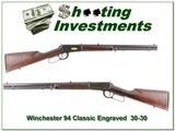 Winchester Model 94 Classic 20in Ocitgonal barrel