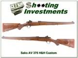 Sako AV Mannlicher Custom 375 H&H