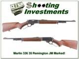 Marlin 338 SC 35 Remington early JM marked!