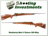Weatherby Mark V Deluxe 300 Wthy
