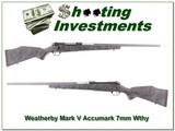 Weatherby Mark V Accumark 7mm Wthy Mag
