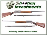 Browning A5 Sweet Sixteen 2 barrels made in 1949!