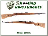 German Mauser 98 8mm 1939
