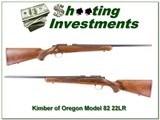 Kimber of Oregon Model 82 22LR - 1 of 4