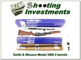 Smith & Wesson Model 3000 police with 2 barrel! - 1 of 4