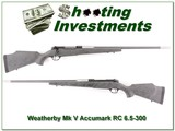 Weatherby Mark V Accumark RC in 6.5-300 Wthy MAG - 1 of 4