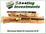 Winchester 94 Centennial 66 30-30 26in NIB - 1 of 4