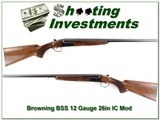 Browning BSS 12 Gauge Exc Cond 26in IC and MOD - 1 of 4