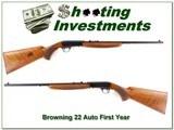 Browning 22 Auto 1st year Belgium thumbweel 22 - 1 of 4