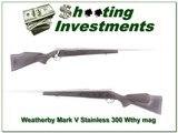 Weathebry Mark V Stainless 26in 300 Wthy Mag!