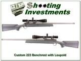Darrell Holland custom 223 on Remington 700 Leupold for sale - 1 of 4
