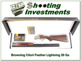 Browning Citori Feather Lightning 20 Gauge in box for sale