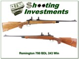 Remington 700 BDL 243 nice wood!