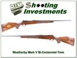 Weatherby Mark V Bi-Centennial 7mm WthyMag - 1 of 4