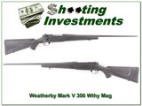 Weatherby Mark V 300 Wthy Mag Exc Cond for sale - 1 of 4