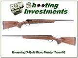 Browning X-Bolt Hunter Micro Midas 7mm-08 for sale - 1 of 4