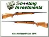 Sako AIII Finnbear Deluxe 30-06 Exc Wood! - 1 of 4