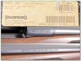 Browning Model 52 Exc Cond in box! for sale - 4 of 4