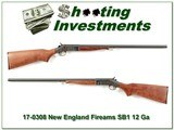 New England Firearms Partner SB1 12 Ga 3in 28in Mod for sale - 1 of 4