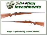 Ruger 77 Red Pad Pre-Warning 220 Swift Varmint!