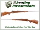 Weatherby Mark V Deluxe 7mm 26in for sale