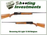 Browning A5 Light 12 68 Belgium likely unfired! - 1 of 4