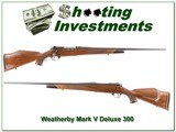Weatherby Mark V Deluxe 300 Wthy Exc Cond for sale