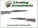 Browning A-bolt II Stainless Stalker 30-06 like new! for sale