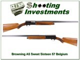 Browning A5 Sweet Sixteen 57 Belgium for sale - 1 of 4