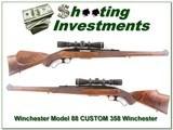 Custom Winchester 88 Left-Handed 358 Winchester